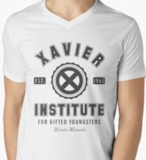 Xavier Institute Men's V-Neck T-Shirt