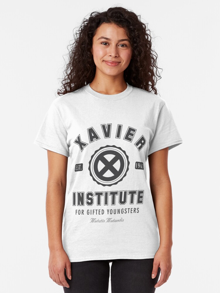 Vista alternativa de Camiseta clásica Instituto Xavier