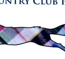 Country Club Prep Logo Sticker