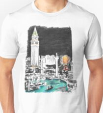 Las Vegas Art - The Venetian Unisex T-Shirt