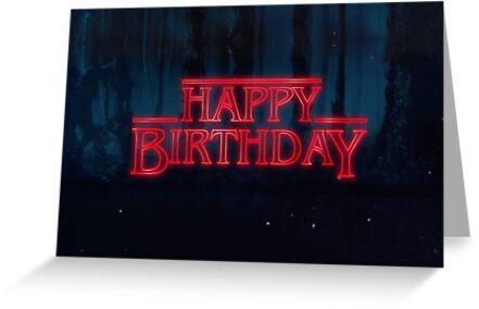 «Cosas extrañas - Feliz cumpleaños» de Orsum-art