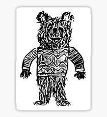 Snobby Bear Sticker