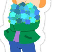 Flower Boy Matt Sticker