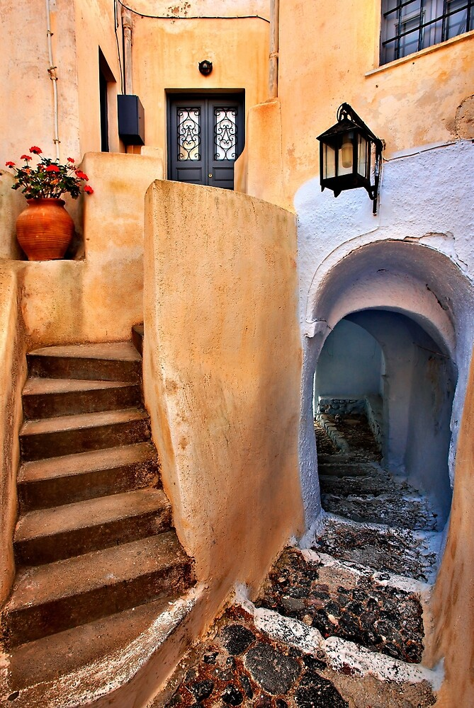 Lack of space in the heart of Pyrgos by Hercules Milas