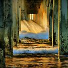 Under the Pier by Barbara  Brown