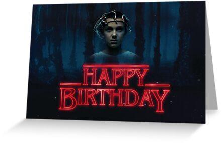 Stranger Things - Happy Birthday Eleven by Orsum-art