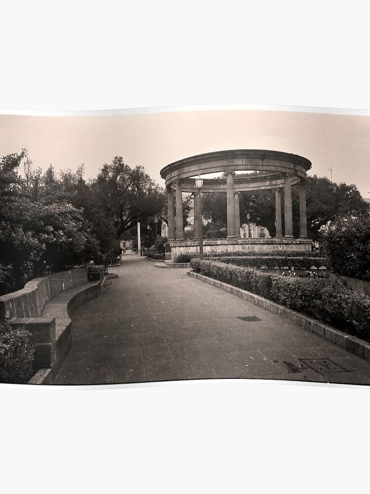 Parque Central - Quetzaltenango (Xela), Guatemala | Poster