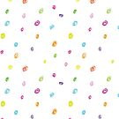Colorful pastel dots by LeonART