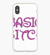 BASIC BITCH iPhone Case