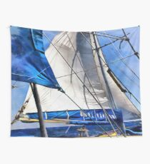 A Sailor Is An Artist And His Medium The Wind Wall Tapestry