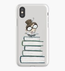 Itty Bitty Book Lover  iPhone Case/Skin