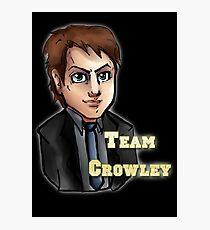 Team Crowley (Varsity Style)  Photographic Print