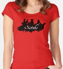 Sistahs! Women's Fitted Scoop T-Shirt