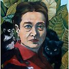 Simone de Beauvoir by Renee Bolinger