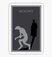 Moony Sticker