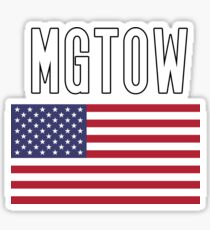 MGTOW USA  Sticker