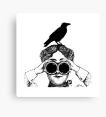 Where's that bird?! - humor Canvas Print