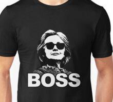 """Hillary Clinton """"Boss"""" Unisex T-Shirt"""