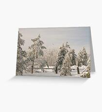Blue Knob Winter Greeting Card