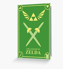 Triforce Wings Greeting Card