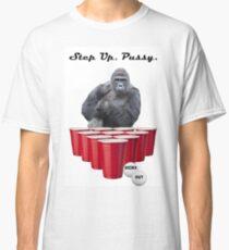 Harambe Beer Pong Step Up Classic T-Shirt