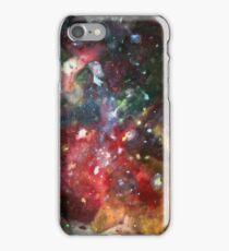 galaxy mesh up iPhone Case/Skin