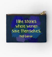Neil Gaiman (feminist at heart) Dark Studio Pouch