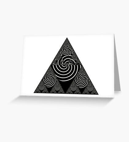 Sierpinski VI Greeting Card
