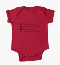 Music Life Quote Kids Clothes