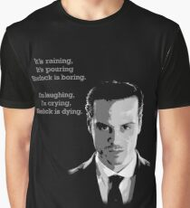 Sherlock Holmes Moriarty  Graphic T-Shirt