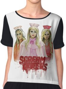 Scream Queens Chiffon Top