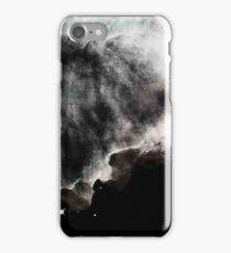 Omega/Swan Nebula - Charcoal iPhone Case/Skin