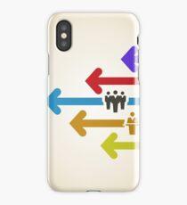 Arrow business iPhone Case