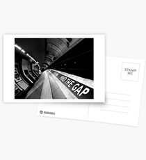 London - Underground - Mind The Gap Postcards