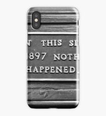 Signs: 1897 iPhone Case
