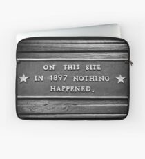 Signs: 1897 Laptop Sleeve