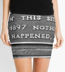 Signs: 1897 Mini Skirt