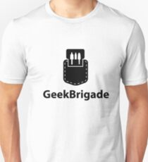 Geek Brigade pocket protector icon Unisex T-Shirt