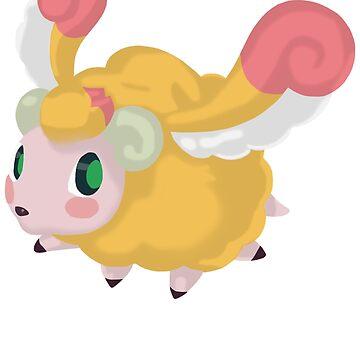 Fluffal Sheep - Yu-Gi-Oh! by TCF-Store