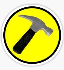 captain hammer Sticker