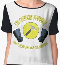 captain hammer Chiffon Top