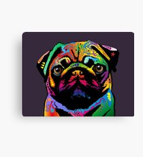 Pug Dog Canvas Print