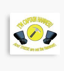 captain hammer Canvas Print
