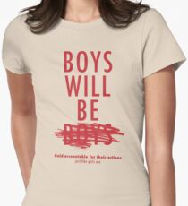 Boys Will Be Held Accountable For Their Actions T-Shirt