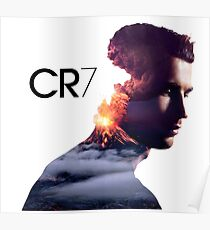 Cr7 Logo Posters Redbubble