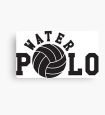 Water polo Canvas Print