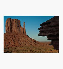 Mitten to the Face Photographic Print