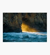 Chaos - Pfeiffer Beach Photographic Print