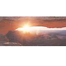 Wide Open West Mesa Arch by strayfoto