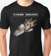Steam Marines - Transparent Logo Unisex T-Shirt